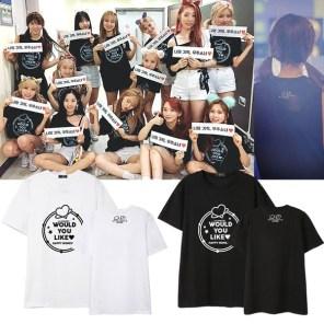Cosmic Girls Would You Like Happy Moment T-Shirt