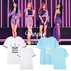 Mamamoo Purple T-Shirt