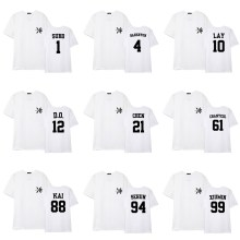 EXO The War T-Shirt (Solo Ver)(White)