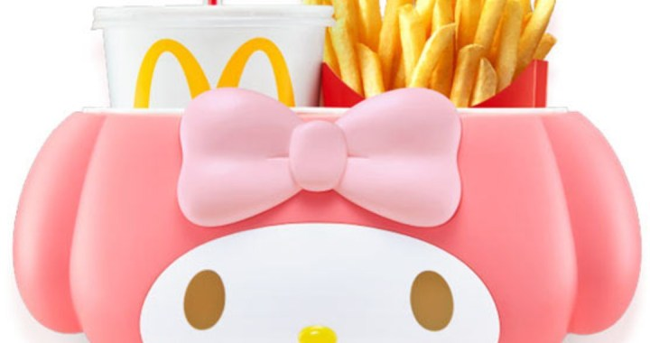 McDonald's Singapore to launch My Melody Drink & Fries Holder from 6 Dec 2018!