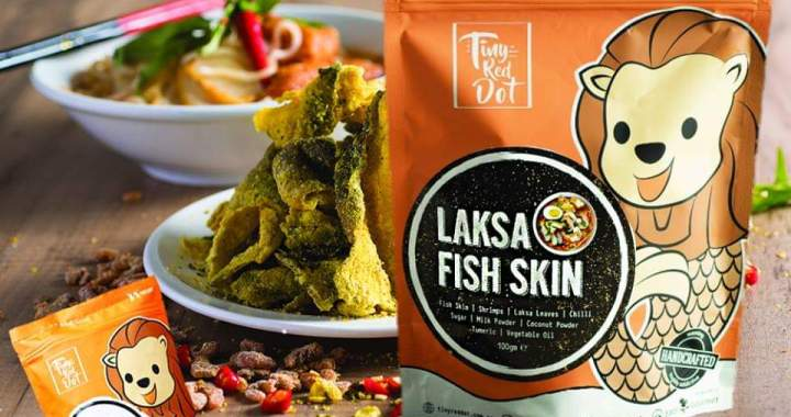 The NEW MUST TRY: LAKSA FISH SKIN from The Tiny Red Dot!
