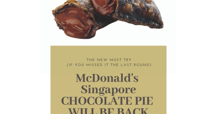 The Return of the McDonald's CHOCOLATE PIE – 22 February 2019