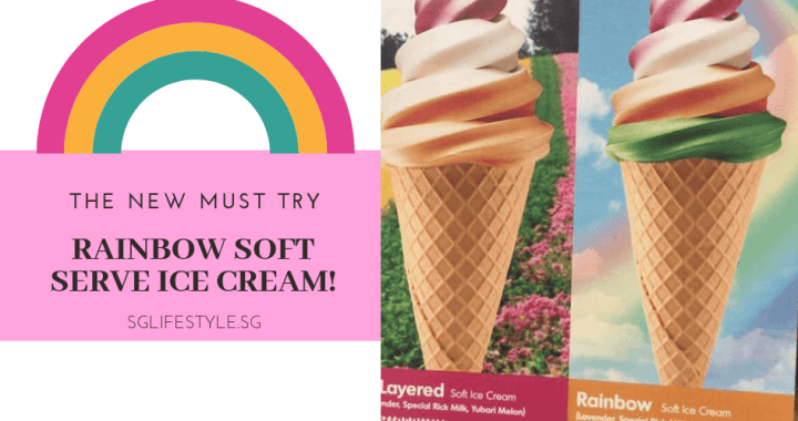 The NEW MUST TRY: RAINBOW SOFT SERVICE ICE CREAM! 🌈🌈