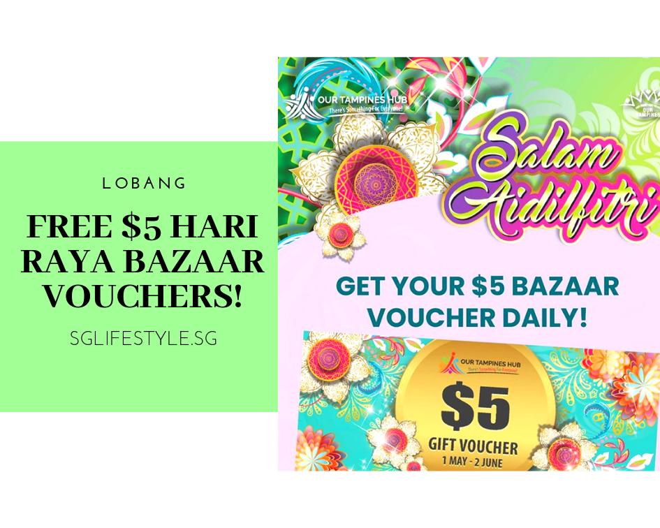 our tampines hub hari raya bazaar