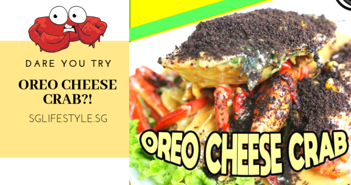 DARE YOU TRY: OREO CHEESE CRAB!?