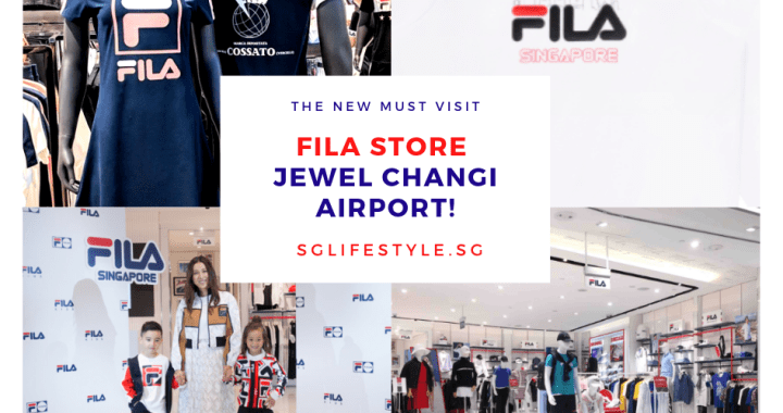 4 Reasons to Visit the NEWLY OPENED FILA Store at Jewel Changi Airport!
