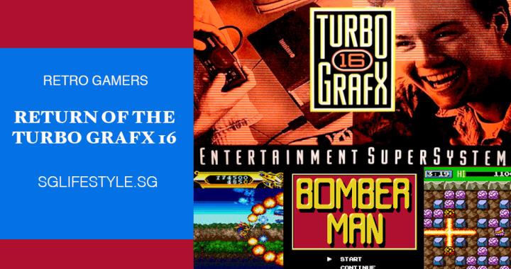 ATTN GAMERS: RETURN OF THE TURBO GRAFX 16