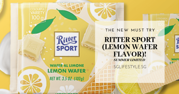 THE NEW MUST TRY: RITTER SPORT (LEMON WAFER FLAVOR) – SUMMER LIMITED!