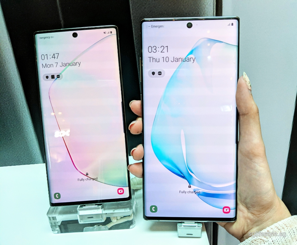First Hand Look: Samsung Galaxy Note 10 Plus and Note 10 in
