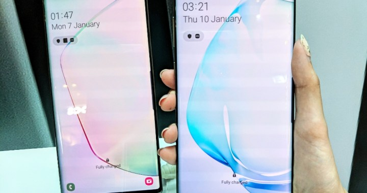 First Hand Look: Samsung Galaxy Note 10 Plus and Note 10 in Singapore!