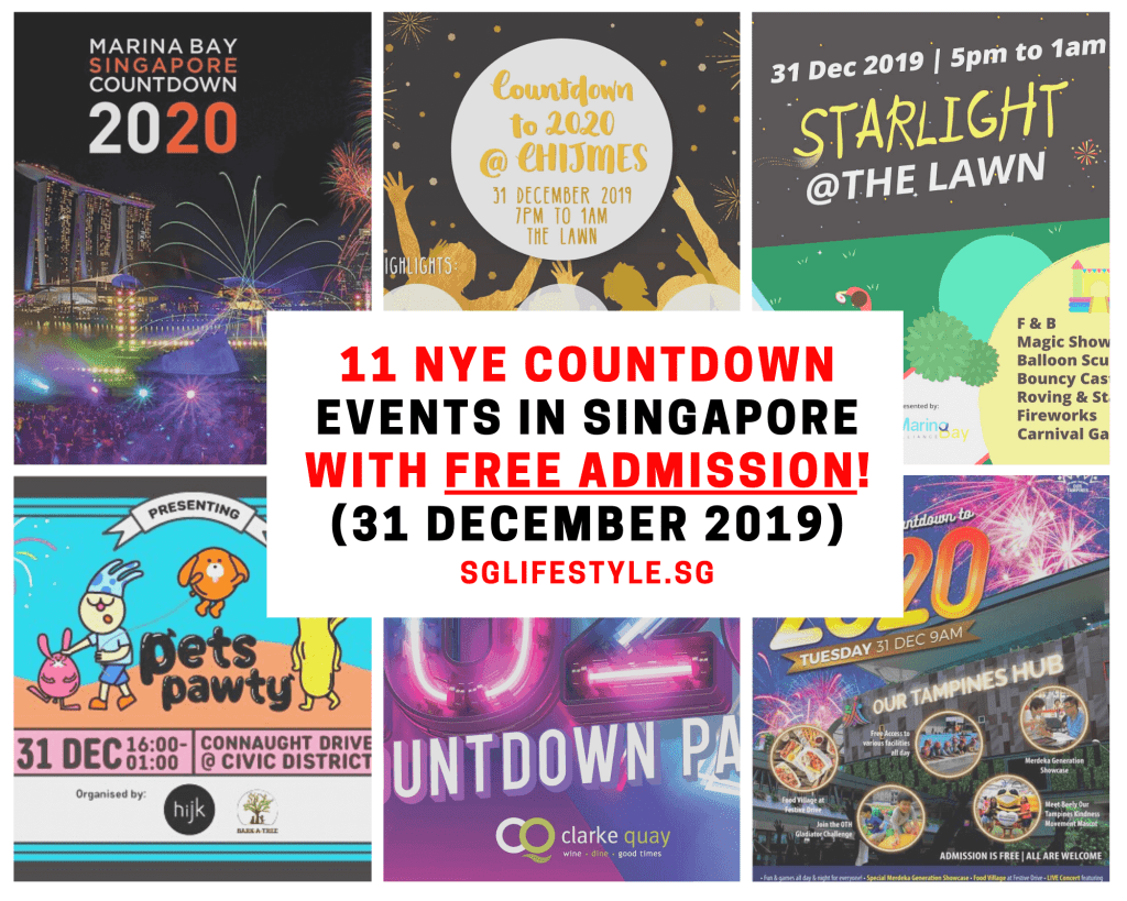new year eve countdown singapore 2019