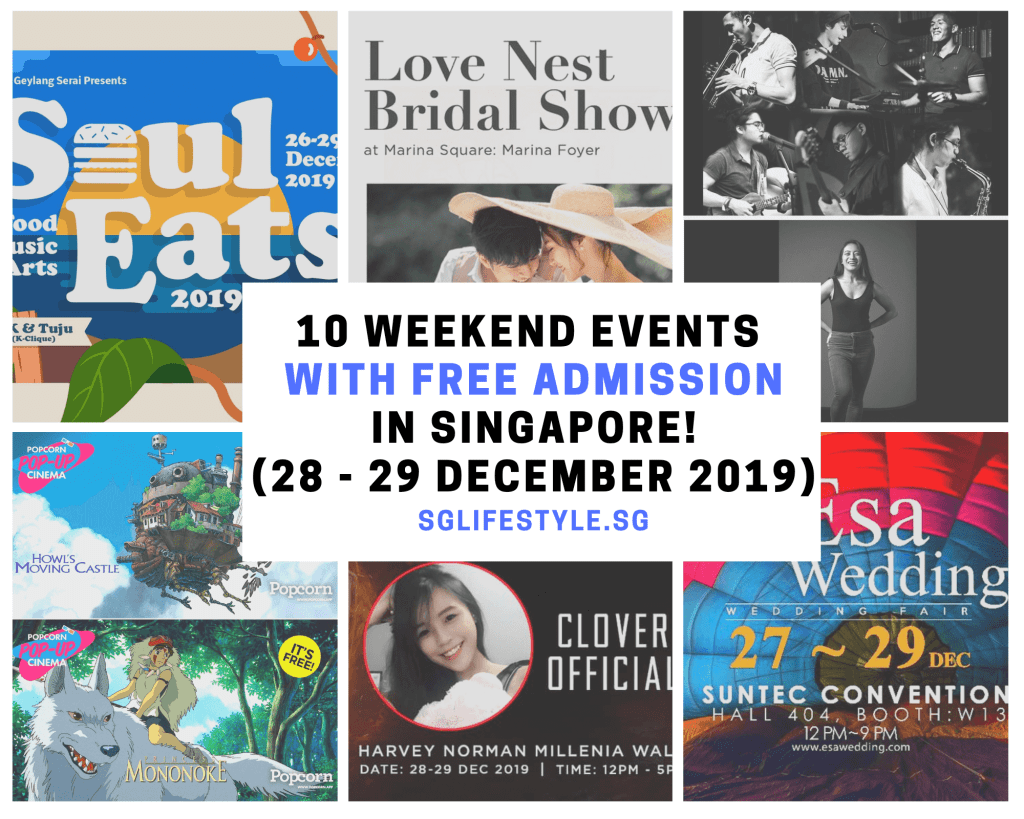 weekend activities singapore free admission sg lifestyle