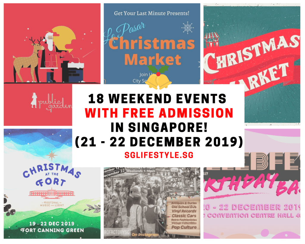 weekend singapore what to do christmas 2019