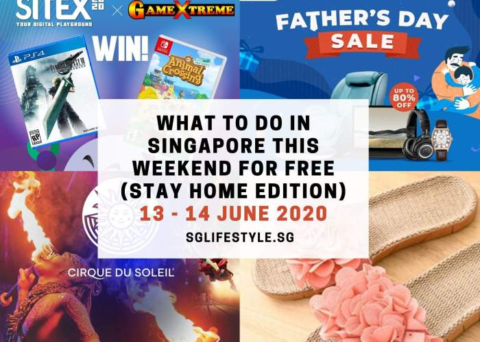 weekend what to do singapore june 2020 sglifestyle