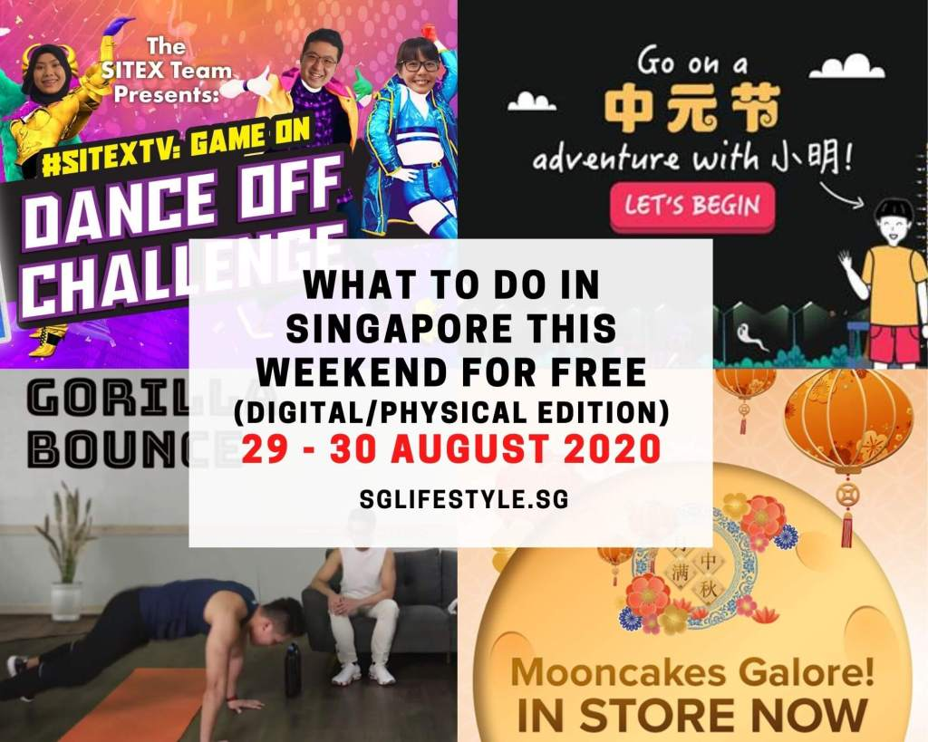 what to do singapore august 2020 weekend free