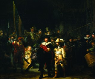Rembrandt's Famous Night Watch