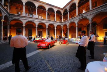 Gala Event Ferrari and Models