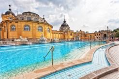 Szechenyi thermal baths in Budapest.