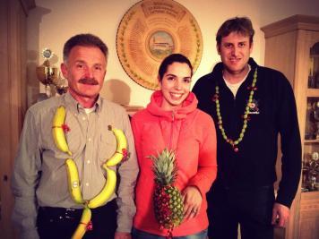 Ramona unsere Ananas-Königin