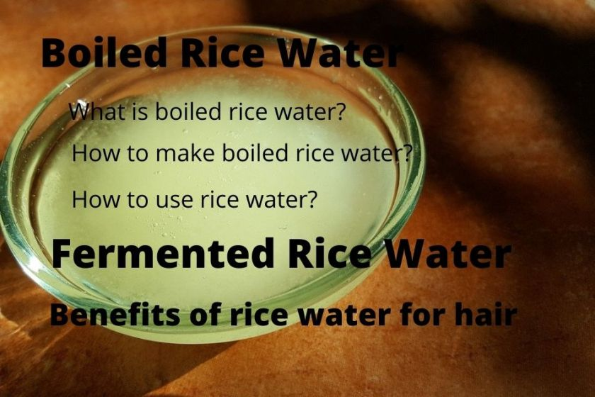 how fast does rice water grow hair