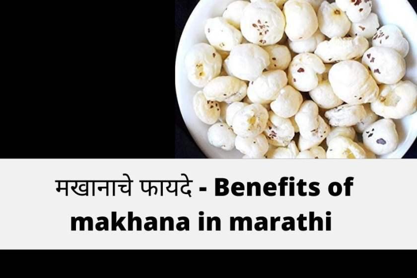 makhana meaning in marathi