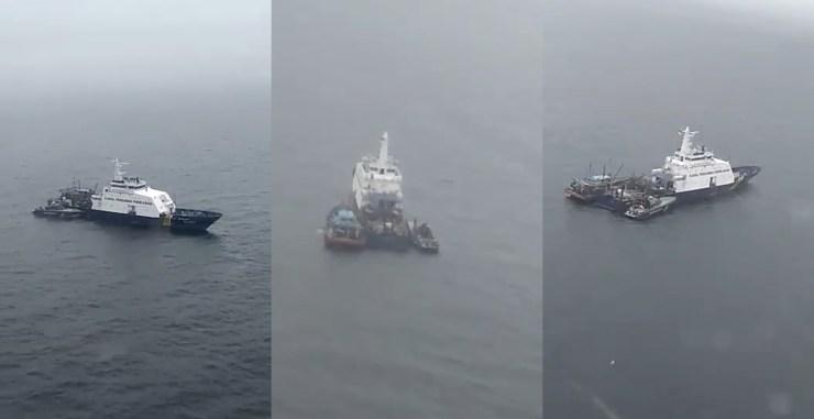 Image result for Kapal pengawas perikanan indonesia ceroboh