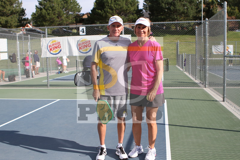 Partners in pickleball and life