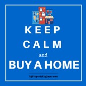 KEEP Calm and buy a home