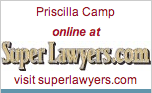 Priscilla Camp, 2009 Super Lawyer
