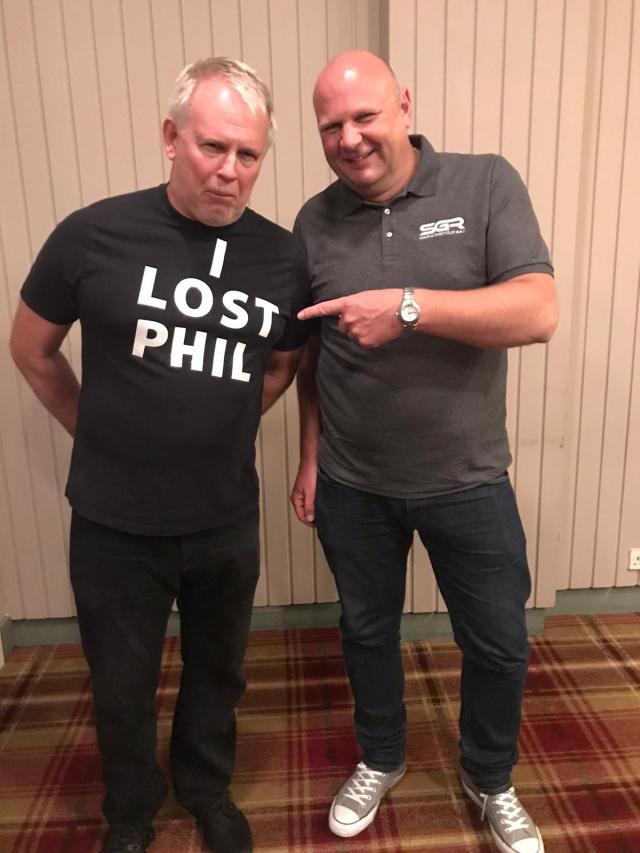 Where's Phil?