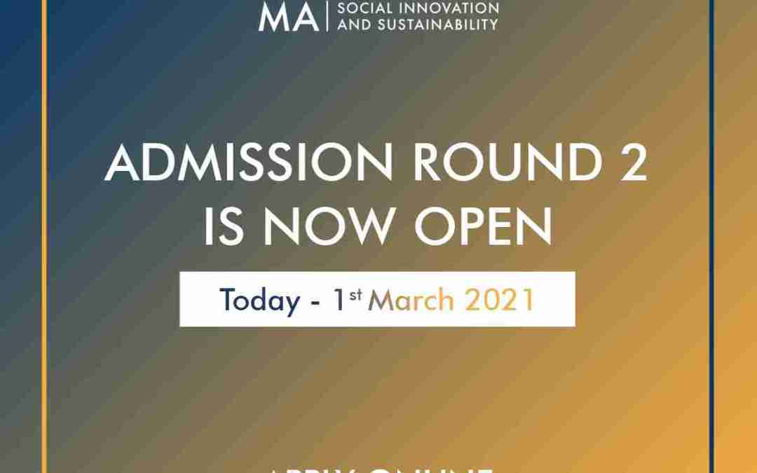 MAS Admission Round 2 is Now Open