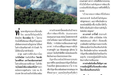 """The MAS Program, The School of Global Studies (Thammasat University) and Marketbuzz collaborated on the survey topic """"Are the majority of Thai people concerned about the environment?"""""""