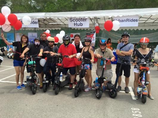 Escooter riders unite!