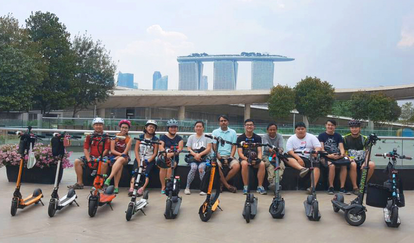 Singapore INOKIM Riders (SIR) out for a Sunday Group Ride