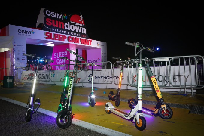 scooter line up
