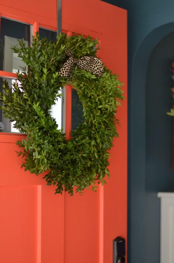 front door wreath 2