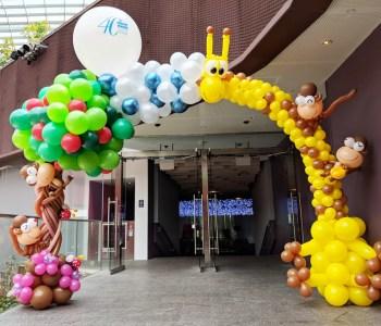 Balloon Amazon Arch Decoration Singapore