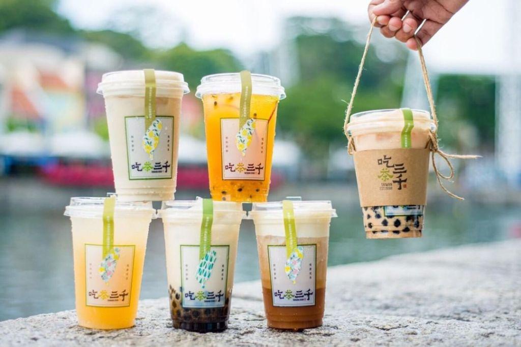 Chi Cha San Chen Best Bubble Tea Shop in Singapore