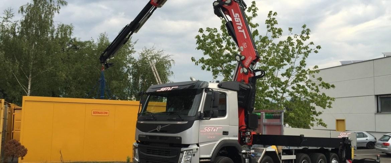 nouveau camion grue sgtt