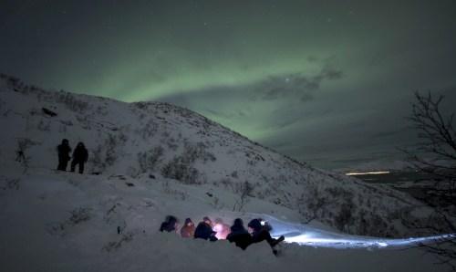 Aurora Boreale fuoco