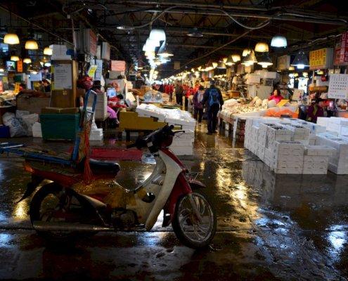 Noryangjin - Mercato del pesce