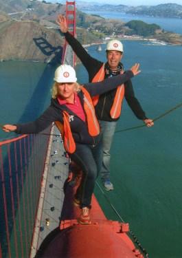 Passeggiata sul Golden Bridge