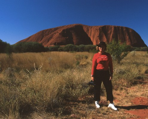 Australia: Uluru.