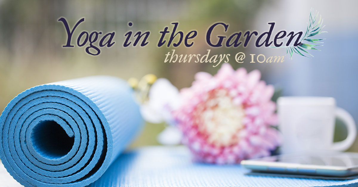 Yoga in the Garden