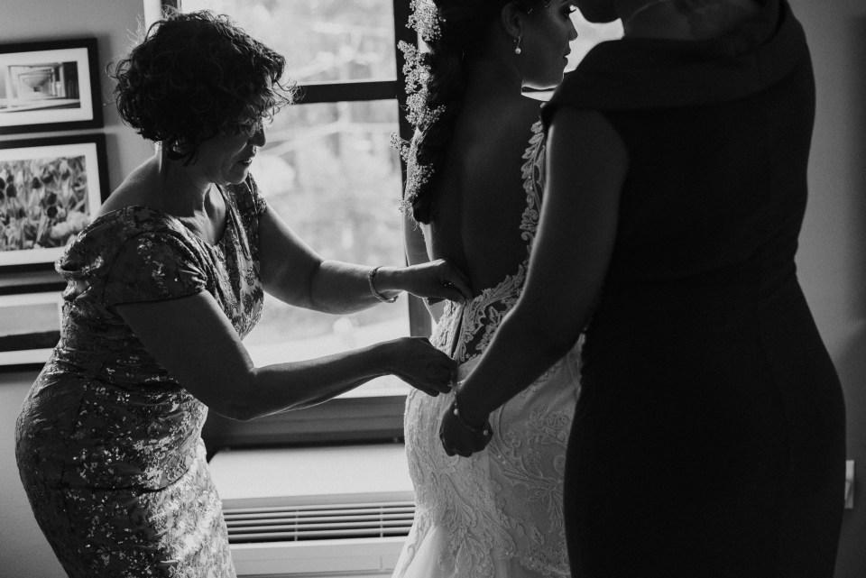 bride at kings mills