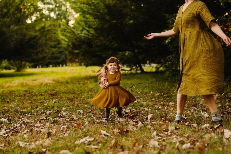 awbury arboretum fall photographer