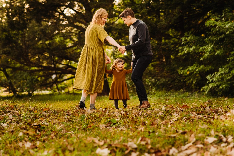 philly awbury arboretum family photographer