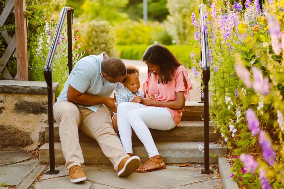 philadelphia bartram's garden family session