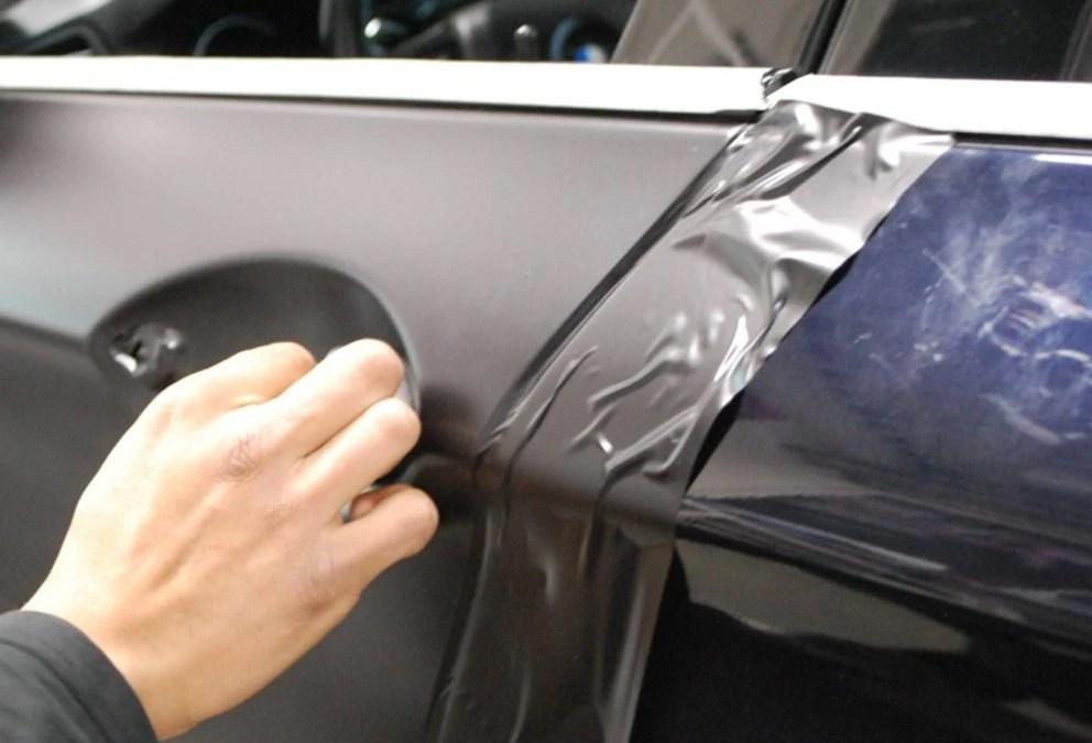 How to wrap around door handles