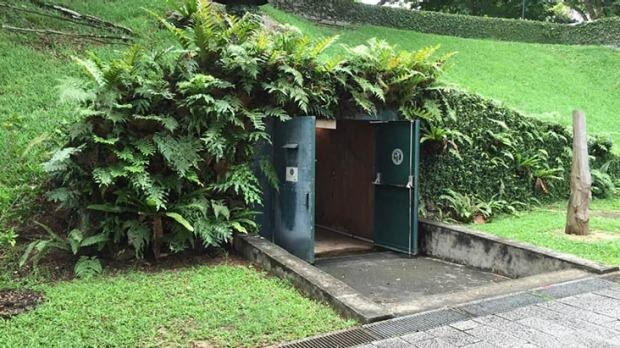 Singapore battle Bunker
